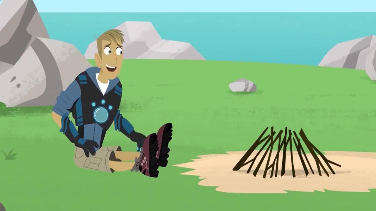 32动物兄弟第四季-阿薇娃找到马丁,一起制作海莺超能力碟片拯救大家!