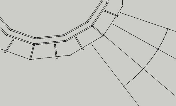 cad之间导入skp充填折线,且线条图案不变成是cad连接线段图片