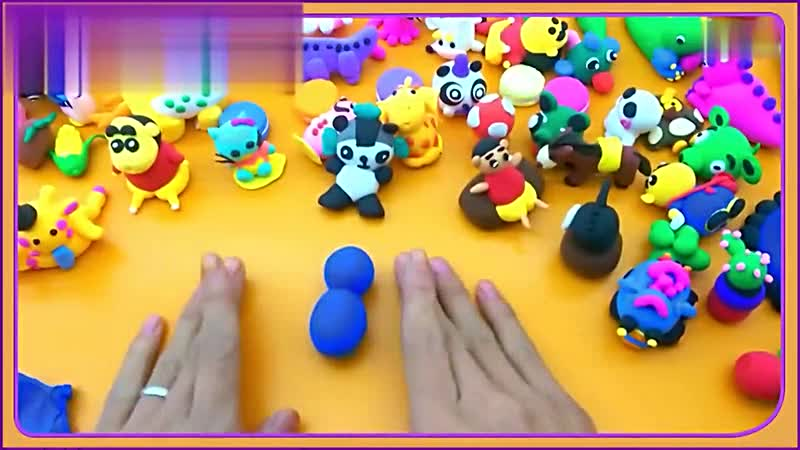 橡皮泥手工制作大全 天线宝宝1-儿童玩具快乐早教玩具-小雷视频