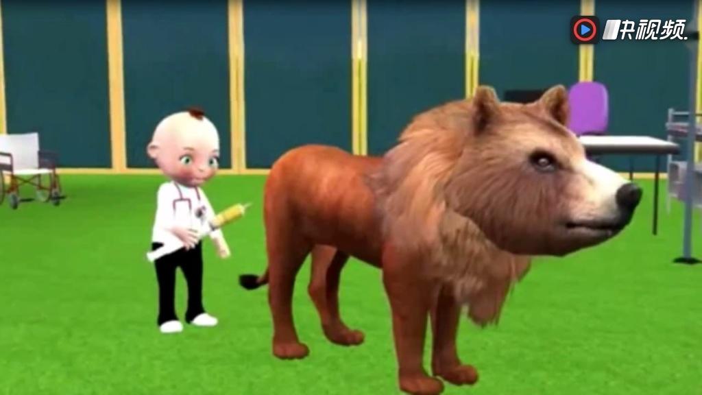 森林运动会亲子游戏之认识动物世界乐园动画玩具视频