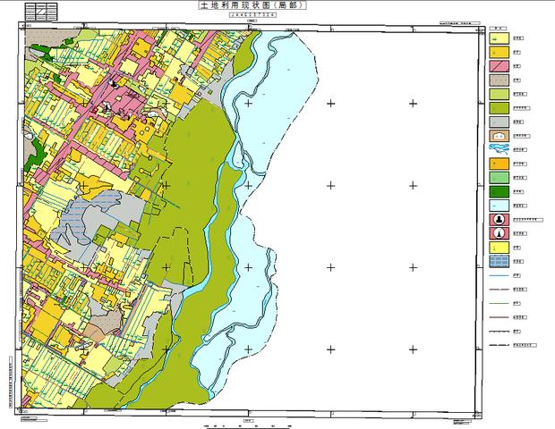 2000国家大地坐标系下怎么做10000标准图幅的土地利用