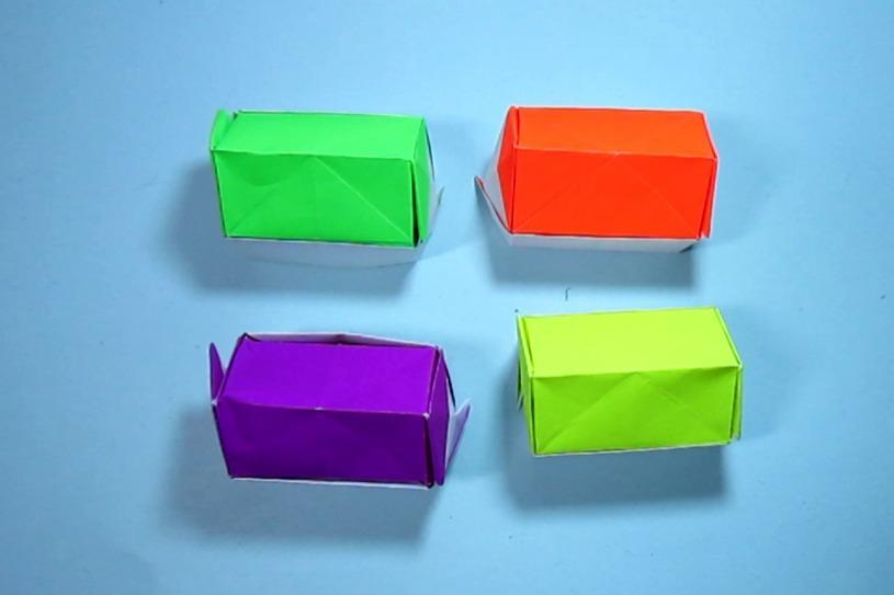 视频-儿童手工折纸:漂亮立体小房子的折法