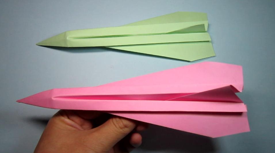 折纸大全简单又漂亮飞机,纸飞机的折法,diy手工制作