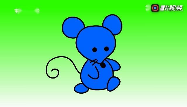 儿童简笔画学习:小老鼠和小鸡