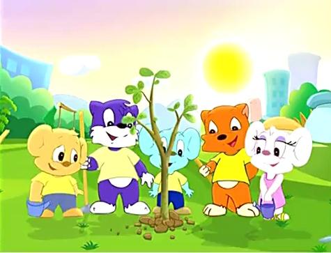 蓝猫快乐活动幼儿园 第5集 小班篇 第5讲