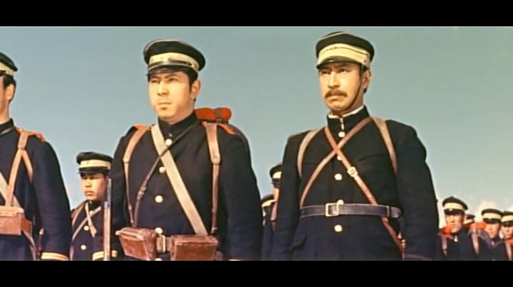 日本电影中的电影甲午战争--平壤之战关于狮的中日图片