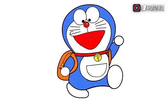 【xiao白鹭】儿童卡通简笔画 哆啦a梦简笔画 儿童幼儿卡通画 简笔画