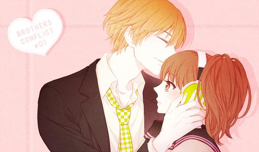 可爱漂亮的动漫故事和帅气的寝室接吻的图片撒女孩女生男孩图片