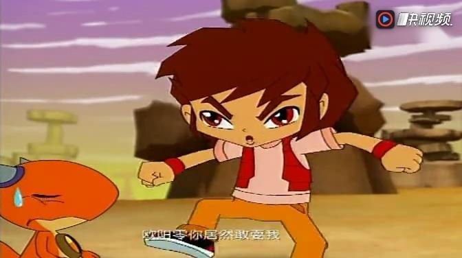 斗龙战士 狮子星龙变成的星龙圣石选择了天乐图片