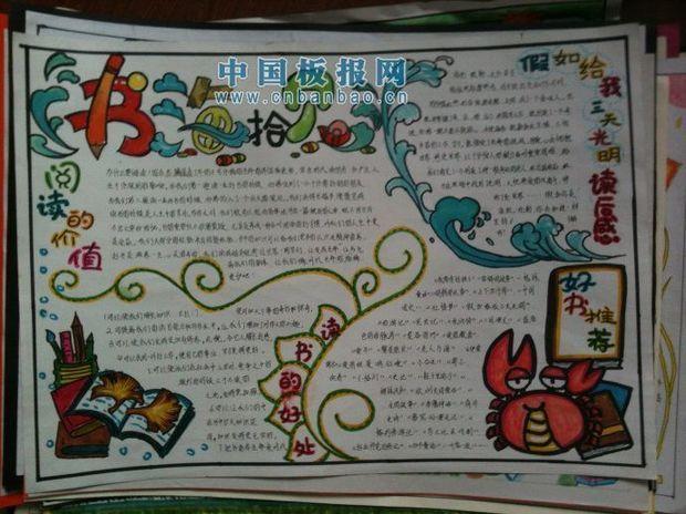小学生六年级英语手抄报内容