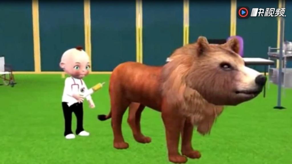 森林运动会亲子游戏之认识动物乐园的动物玩具视频