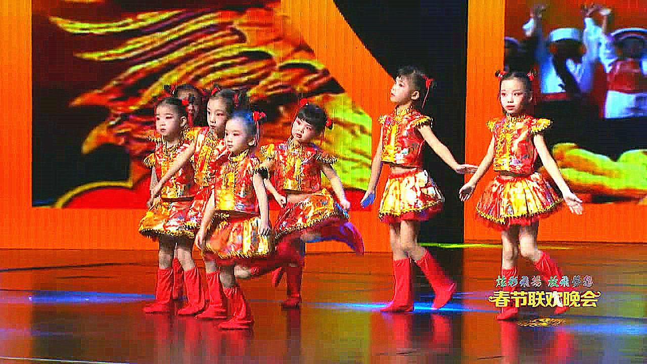 儿童舞蹈《霓裳中国娃 舞蹈中国梦》