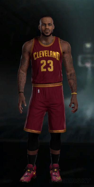 《NBA2K16》腿部教程手臂纹身步骤起步球员自动停车操作修改彩色图片