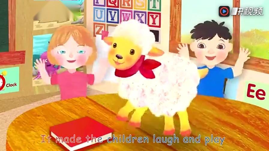 英语原版早教儿歌之8: 玛丽的小羊羔