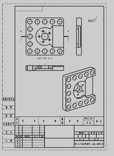 UG8.0菜单图导出CAD出现文件,工程不完全的cad按乱码章图纸图片