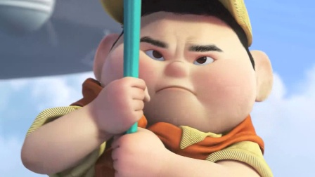 小胖子为了爷爷不被欺负,努力锻炼身体爬绳子救人,太可爱了
