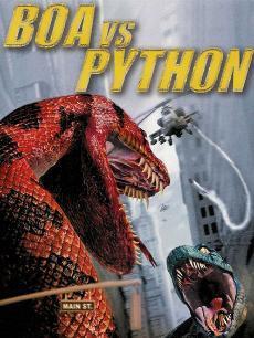 《大蛇对大蟒》