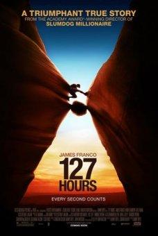 127小时海报