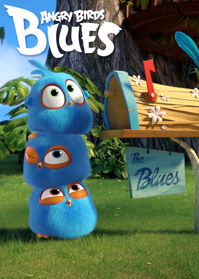 愤怒的小鸟之蓝弟弟系列