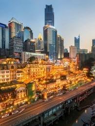 快速发展的中国城市