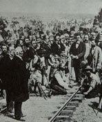 华工纪实:打造太平洋铁路