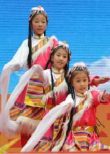 藏族舞教学