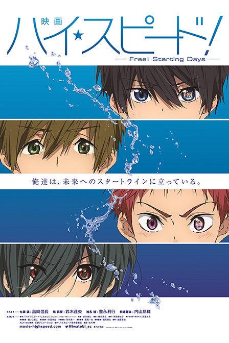 Free! 剧场版2015:Starting Days剧情介绍