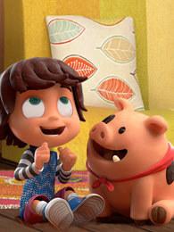 蒙弟和吉米小猪 英文版