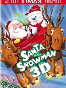 圣诞老人与雪人