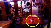 火锅店天花板掉下死老鼠