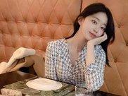 24岁韩国美女,健身练就完美腰臀比,展现前凸后翘身材线条