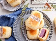 紫薯芋泥全麦面包