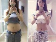 25岁美女,从117斤瘦到90斤,坦言:一个忠告人人瘦到90斤