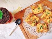 香葱肉松蒸蛋糕&火龙果酸奶奥利奥盆栽
