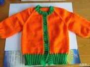 手把手教你学会宝宝开衫毛衣编织方法,详细的让你想学不会都难!