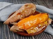 泉城烤薯又热又香的烤红薯,每一口都暖到你的心窝里