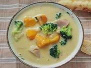 减肥菜谱:豆浆蔬菜浓汤