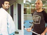 体重450斤的肥仔,花费18个月成功减肥200斤,变成肌肉男