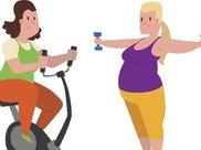 减肥是一种生活态度,你本来就是个瘦人
