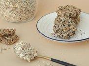 低卡低脂的红糖麦片饼,就算是减肥期间,馋一块也没事