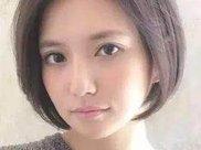 最美的减龄发型短发 波波头图片女减龄发型