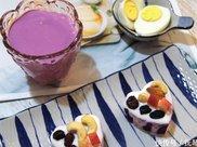 紫薯新吃法,高颜值,营养更均衡,口感更丰富,减肥也可放心吃