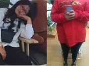 170斤胖妞怕被男朋友抛弃,狠心减肥40斤,这颜值逆天了