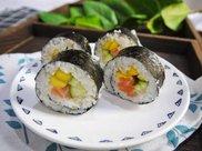 好吃到流泪的藜麦三文鱼寿司卷,连吃三天都不够