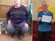男子暴饮暴食胖到360斤 两年成功减掉240斤