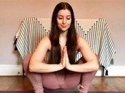 减肥瑜伽:紧实泡泡肉,抹平小肚腩,单有效,胖嫂子也有!