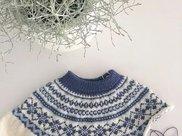 编织课堂:学会这种方法,从上往下织毛衣再也不是难事了(附前后差说明)