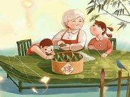 端午节快到了,粽子不会包不用愁,教你包粽子,学会不用买来吃
