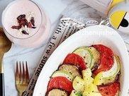 晚上饿吃什么减肥?这盘鲜美低脂的菌菇烤杂蔬,管饱不怕胖