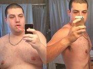 体重达300斤小伙,健身减肥1年瘦到182斤,还结识了新女友